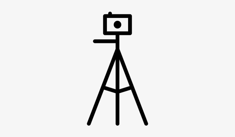 Camera Tripod Vector.