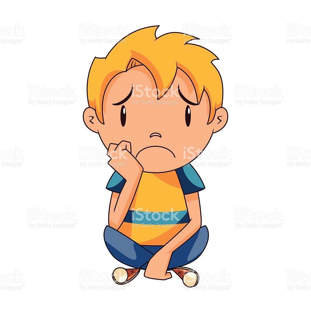 Enfant triste clipart 3 » Clipart Station.