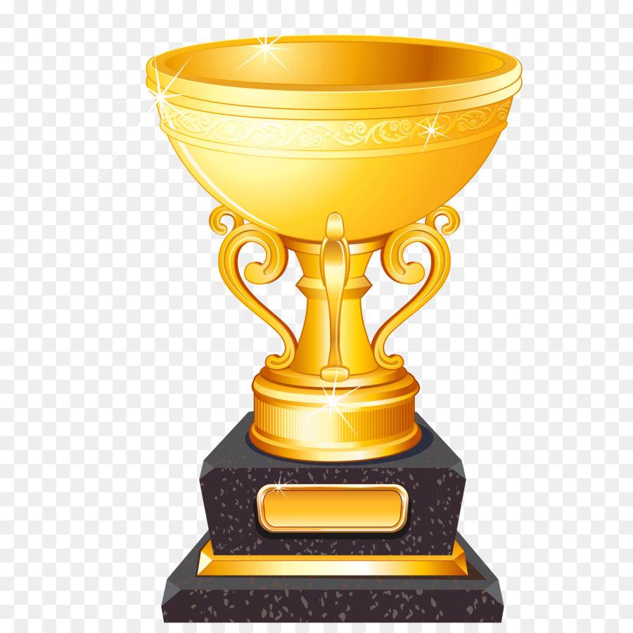 Trofeo di Calcio Clip art.