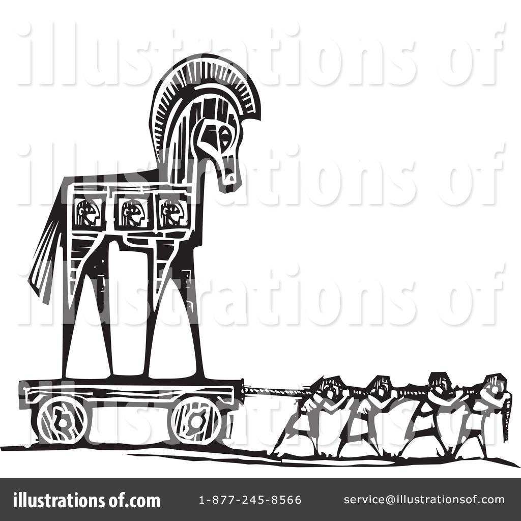 Trojan Horse Clipart #1344238.