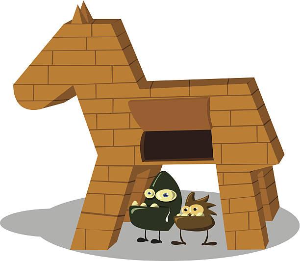 Best Trojan Horse Illustrations, Royalty.