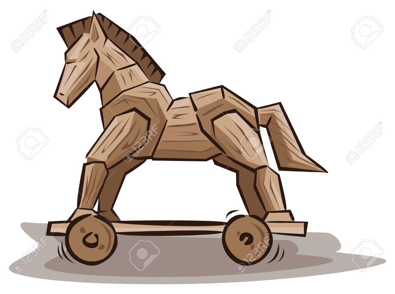 Trojan horse toys.