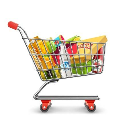 Shopping trolley clipart 2 » Clipart Station.