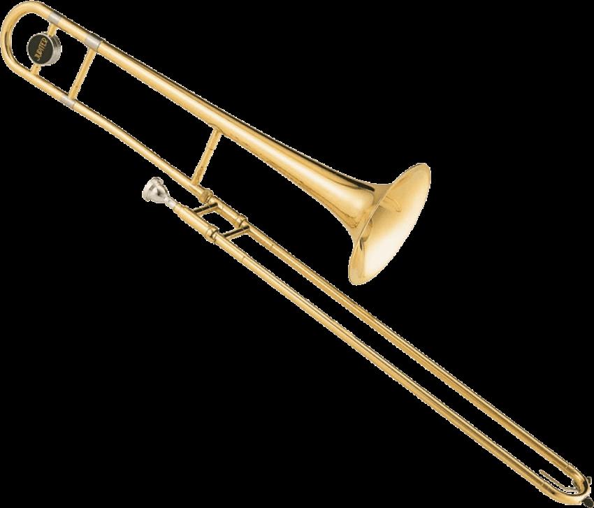 Trombone clipart instrument, Trombone instrument Transparent.