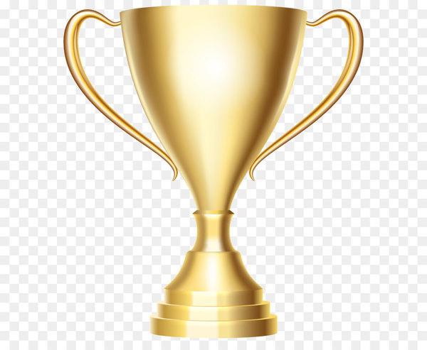 Trophy Gold medal Clip art.