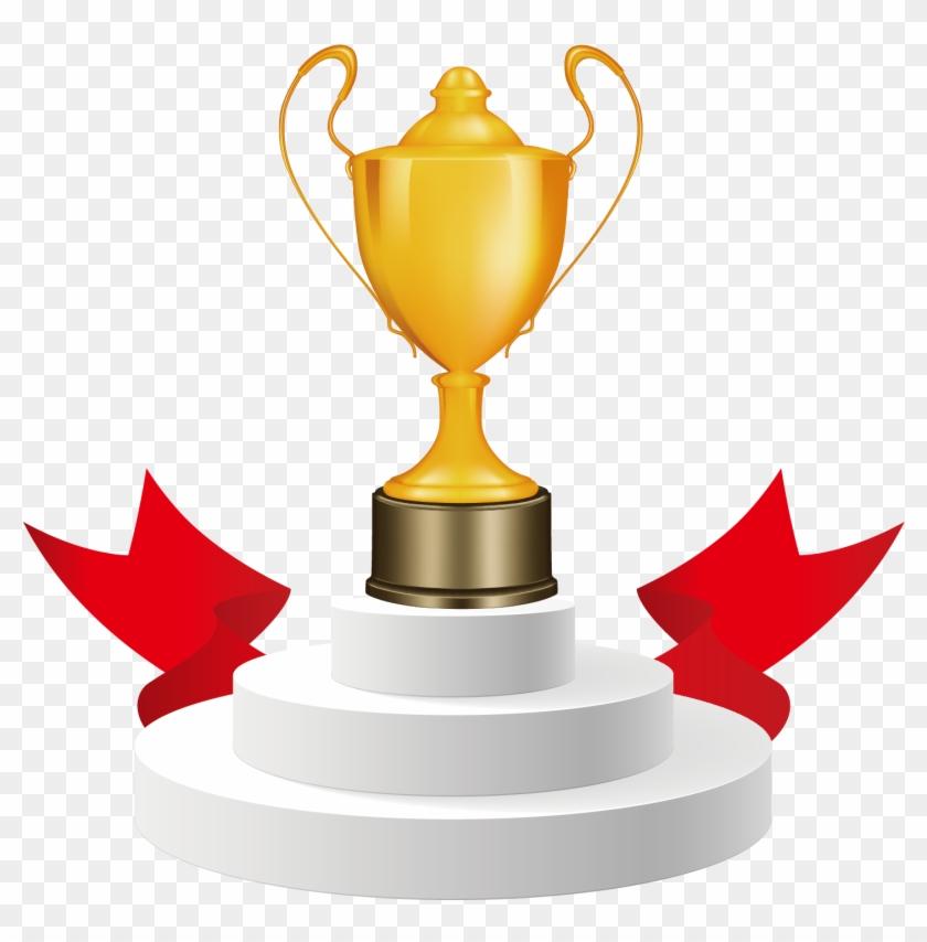 Trophy Cup Award Clip Art.