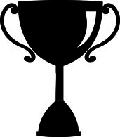 Trophy silhouette clipart » Clipart Station.