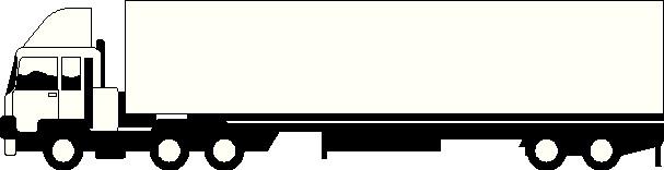 Clipart truck and trailer animated semi truck clip art semi image #39067.