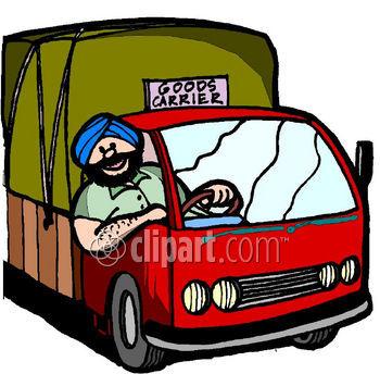 Truck Driver Clip Art.