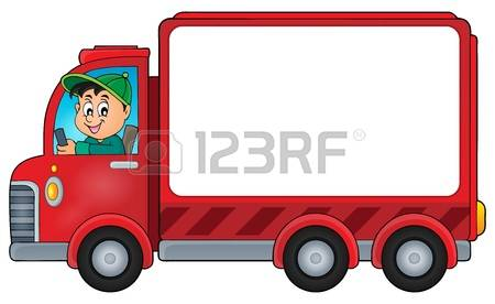4,612 Truck Driver Cliparts, Stock Vector And Royalty Free Truck.