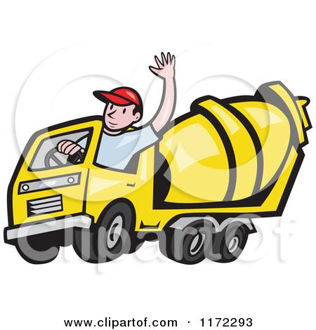 Clipart Truck Driver.