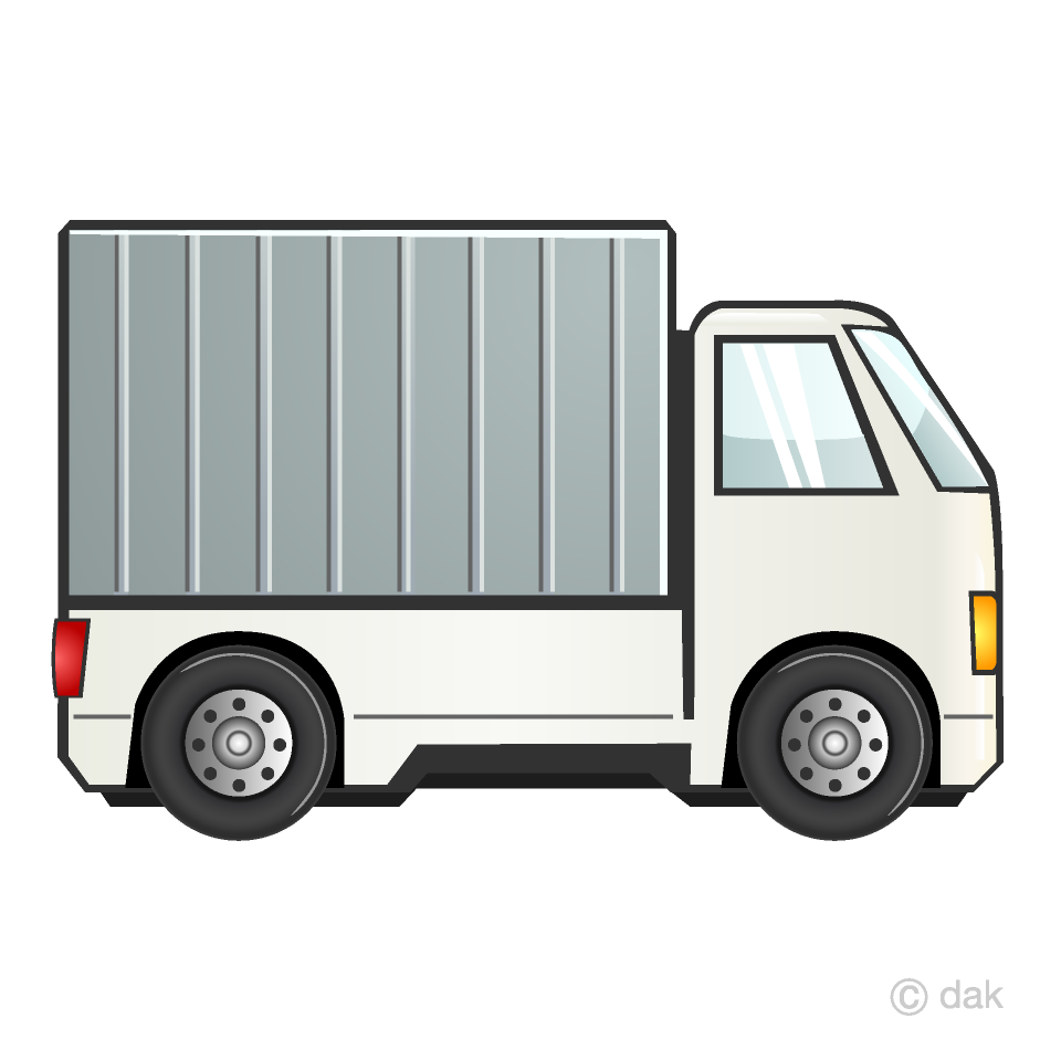 Free Truck Clipart Image|Illustoon.