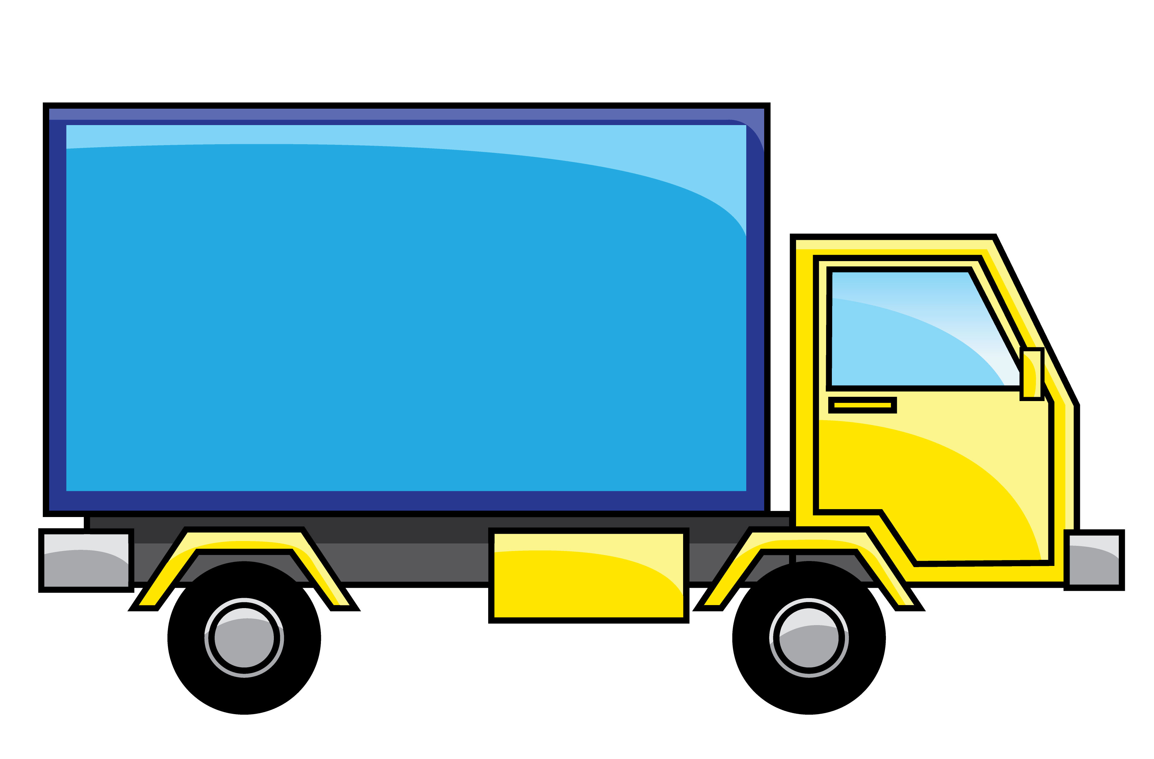 Free Truck Clipart Truck Graphics Clip art of Truck Clipart.