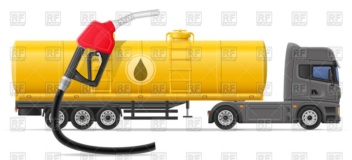 Tank truck.