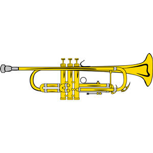 Trumpet clipart, cliparts of Trumpet free download (wmf, eps, emf.