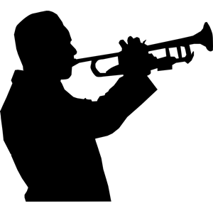 Trumpet Player clipart, cliparts of Trumpet Player free download.