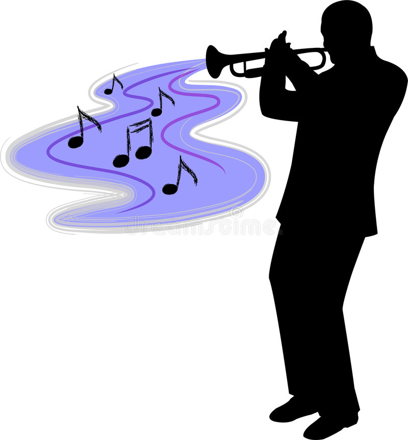 Trumpet Stock Illustrations.
