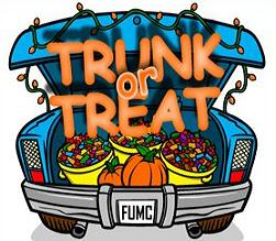 Free Trunk or Treat Clipart.