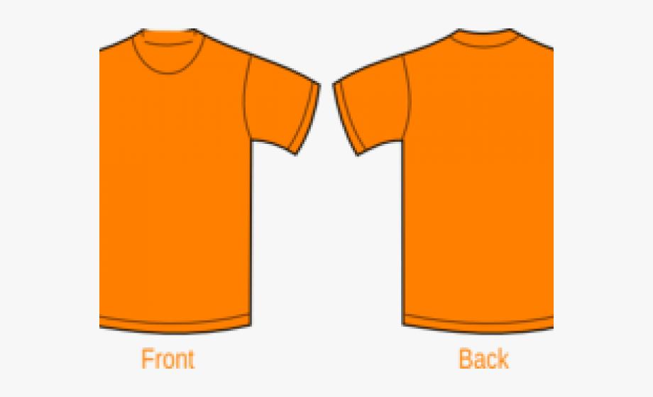 Orange Clipart Tshirt.