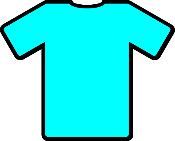T Shirt Template Printable Clipart.