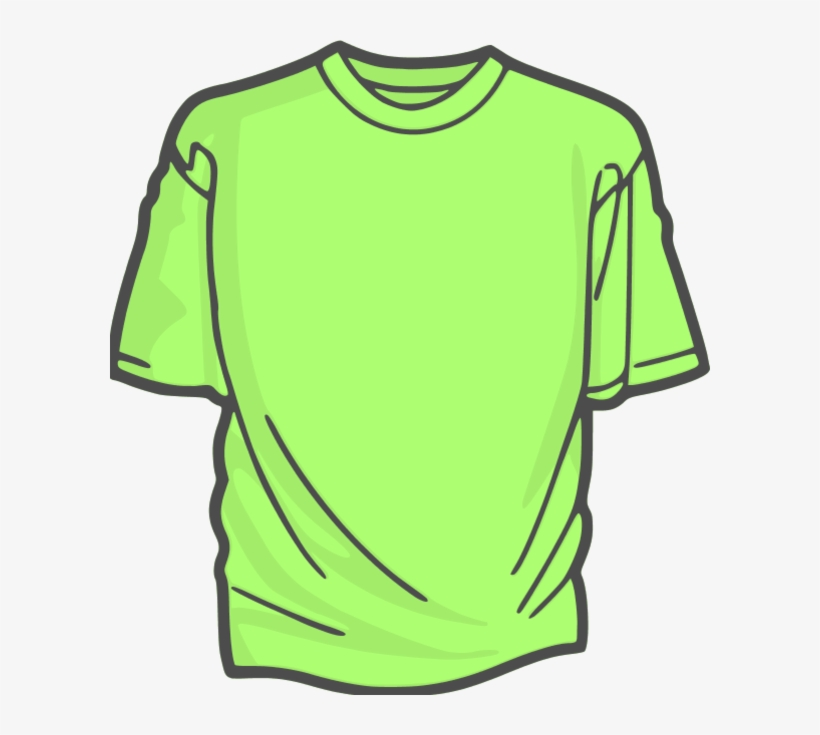 Green Clipart Tshirt.