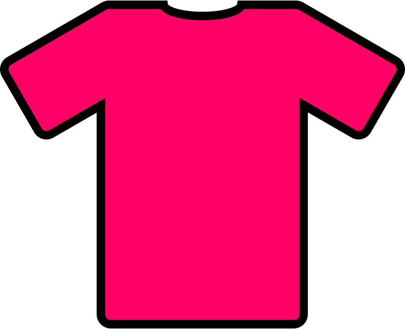 Free Clipart: Pink t.