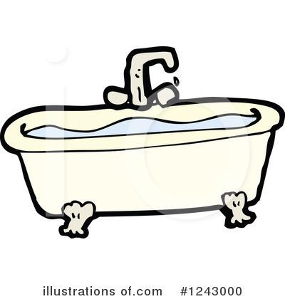 Bath Tub Clipart #1243000.