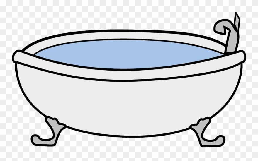 Bathtub Clipart Vector.