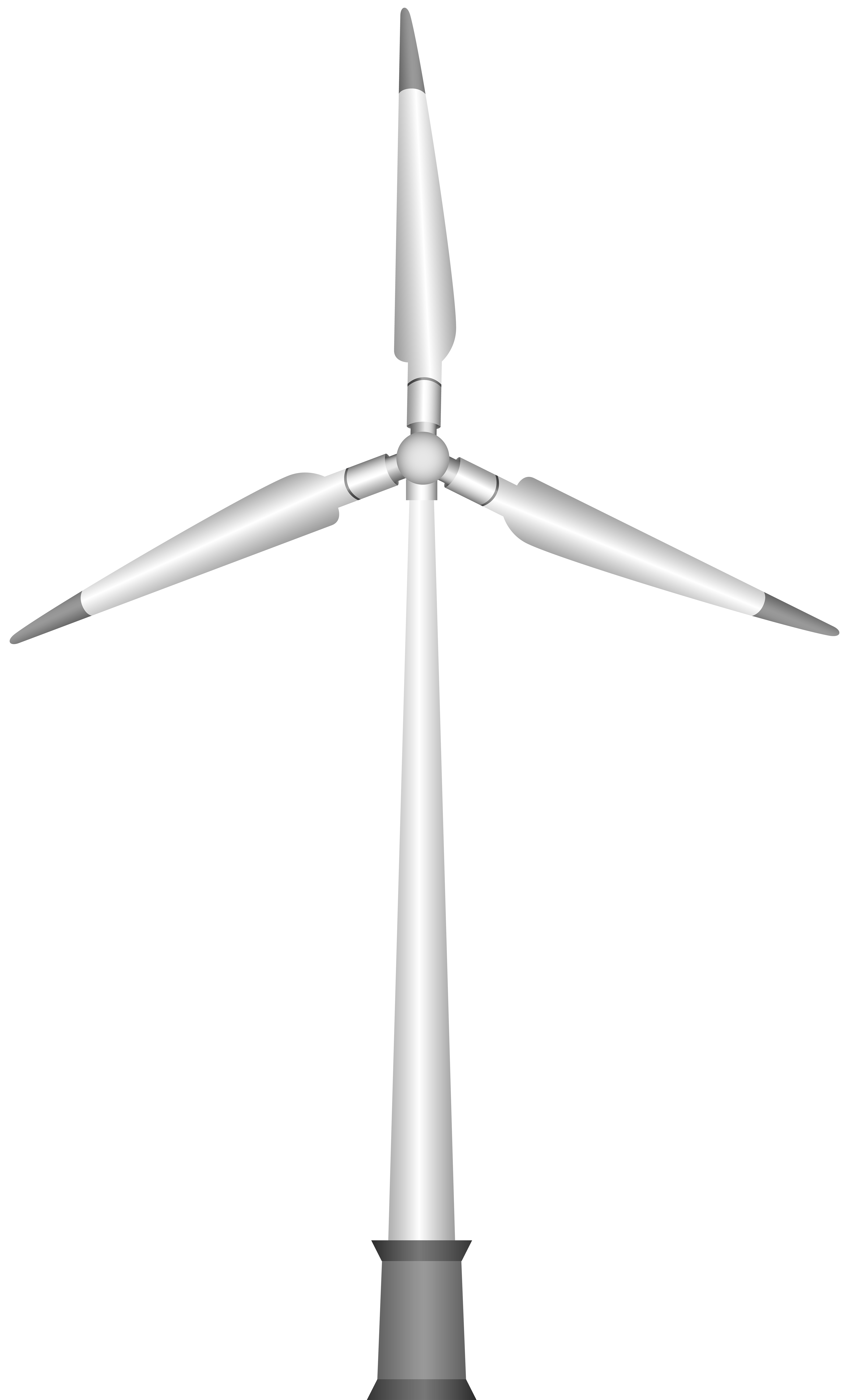 Wind Turbine PNG Clipart.