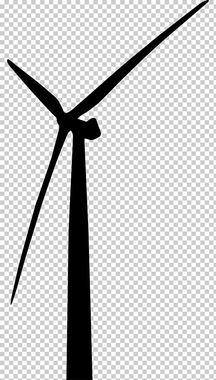 Wind farm Wind turbine Wind power , The winds PNG clipart.