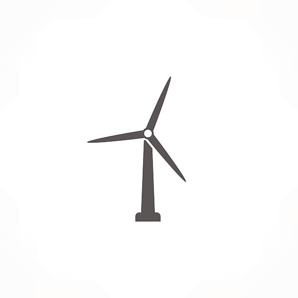 Wind turbine clipart 1 » Clipart Station.