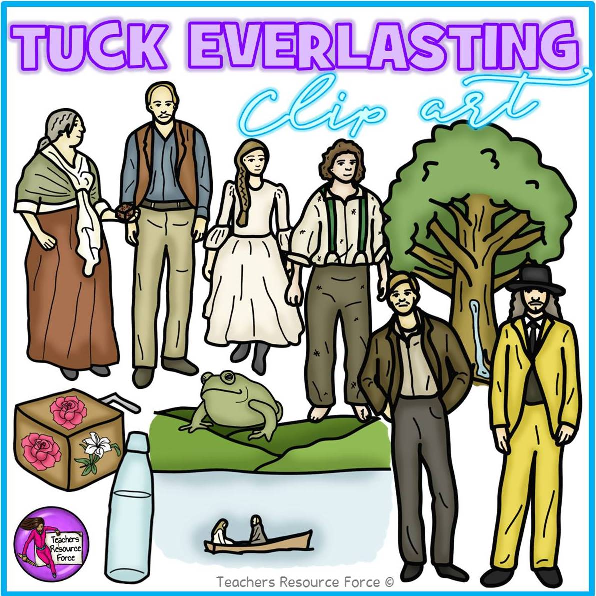 Tuck everlasting clipart 2 » Clipart Station.