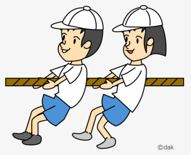 Free Tug Of War Clip Art with No Background.