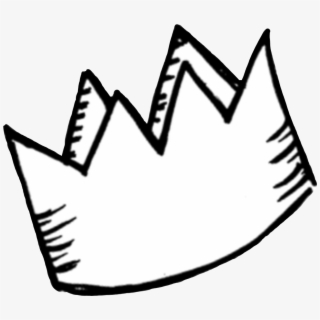 crown #overlay #aesthetic #tumblr #black #white.