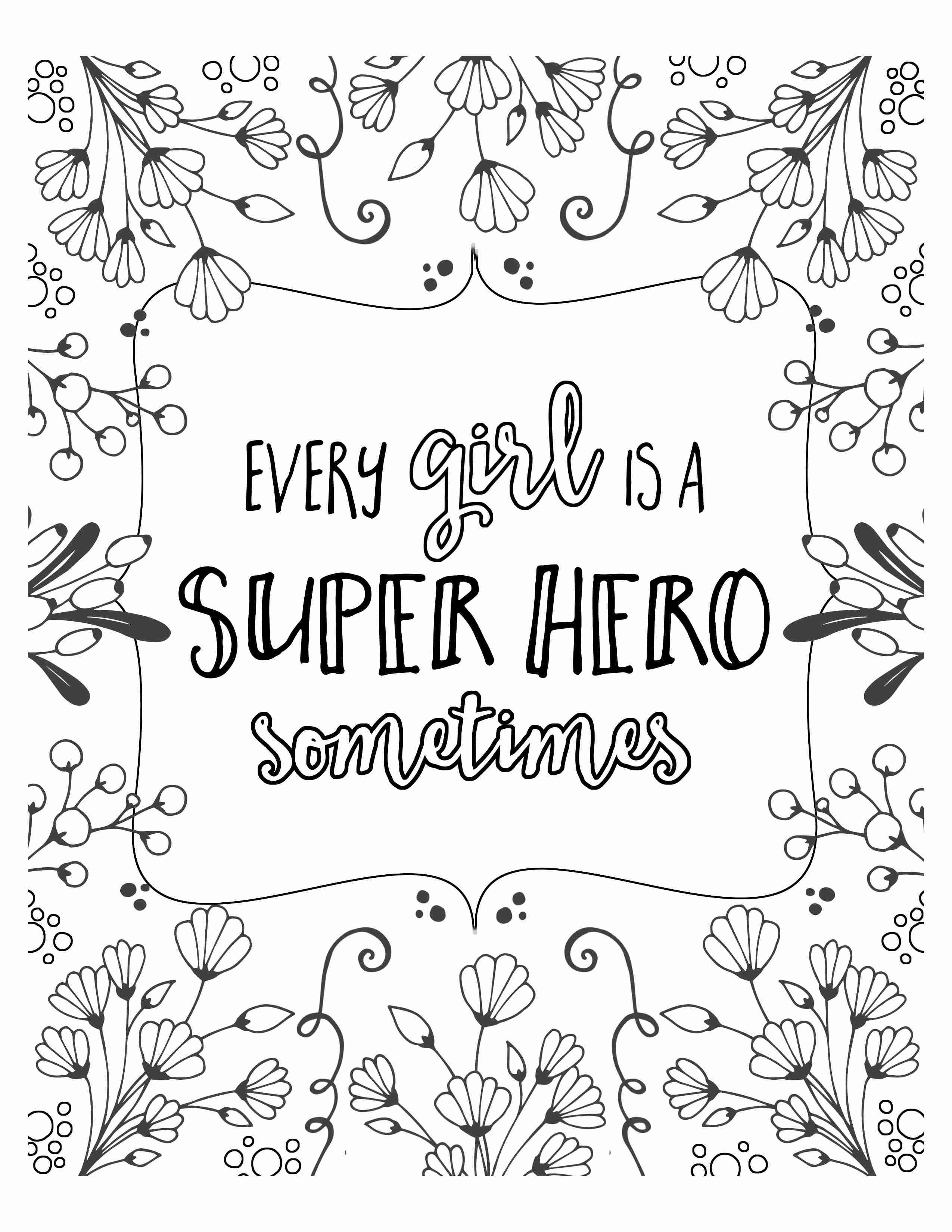 Tumblr Coloring Pages Quotes.