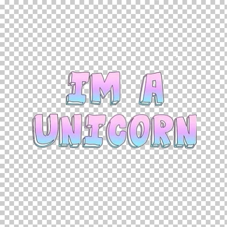 Text Word Unicorn Tumblr Quotation, Word PNG clipart.