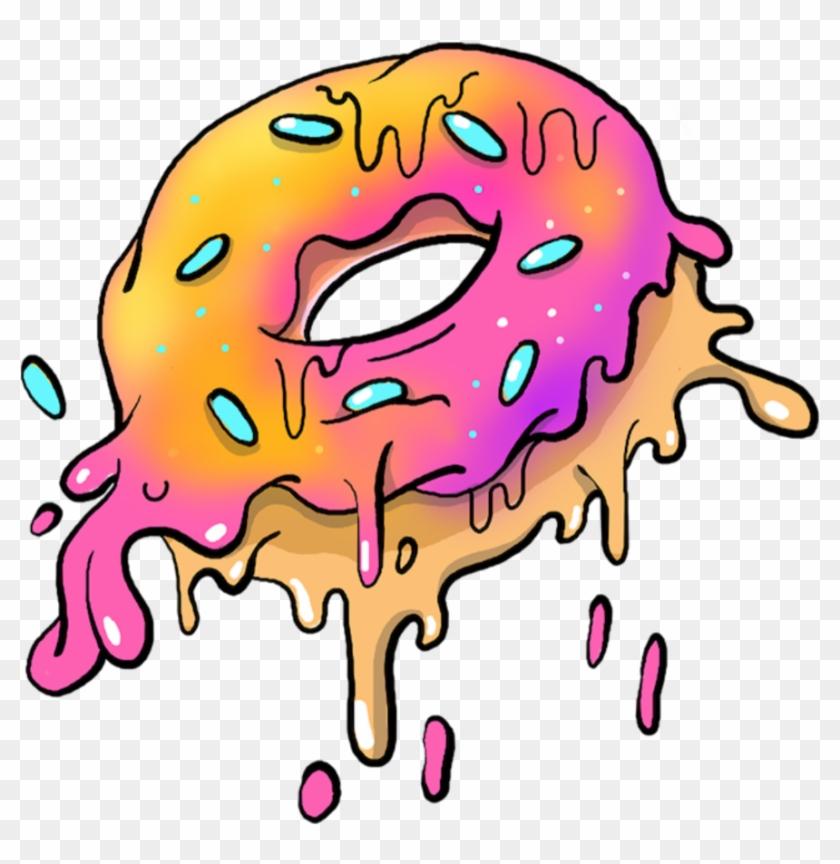 Art Tumblr Sticker Png Donut Picsart Tumblrpng Grimeart.