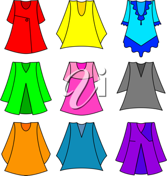 Tunic illustrations and royalty.