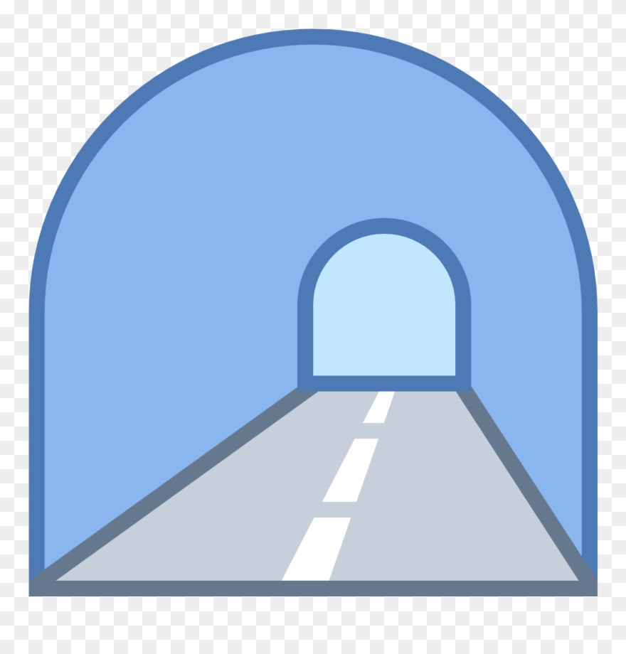 This Icon Represents A Tunnel Clipart (#2806939).