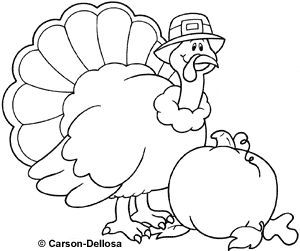Turkey black and white carson dellosa turkey clipart.