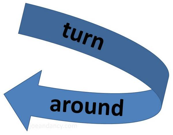 Turn around clipart 7 » Clipart Station.