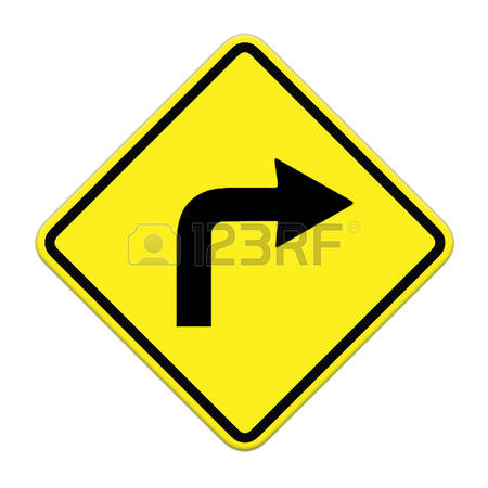 6,503 Right Turn Stock Vector Illustration And Royalty Free Right.