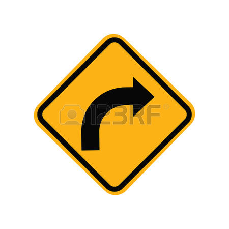 clipart turn right #2