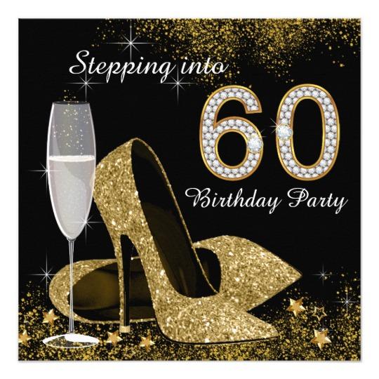 60th Birthday Invitations & Announcements.