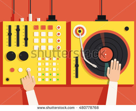 Turntable Stock Images, Royalty.