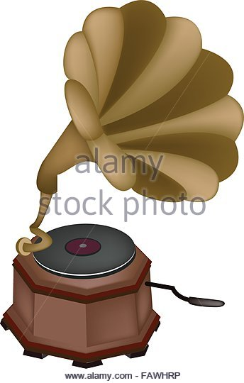 Gold Record Stock Vector Images.