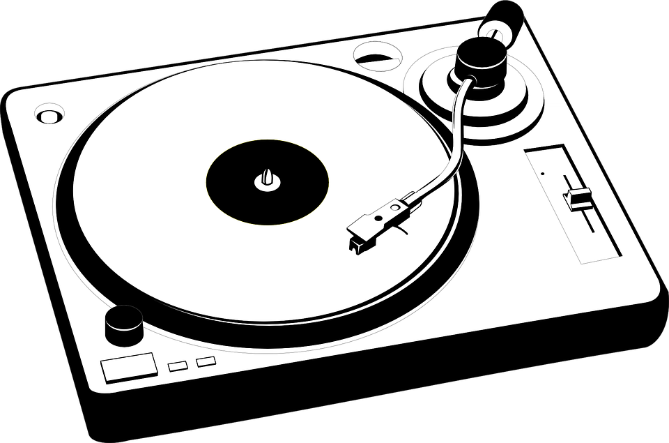 Electronics Turntables Turntable Clipart.