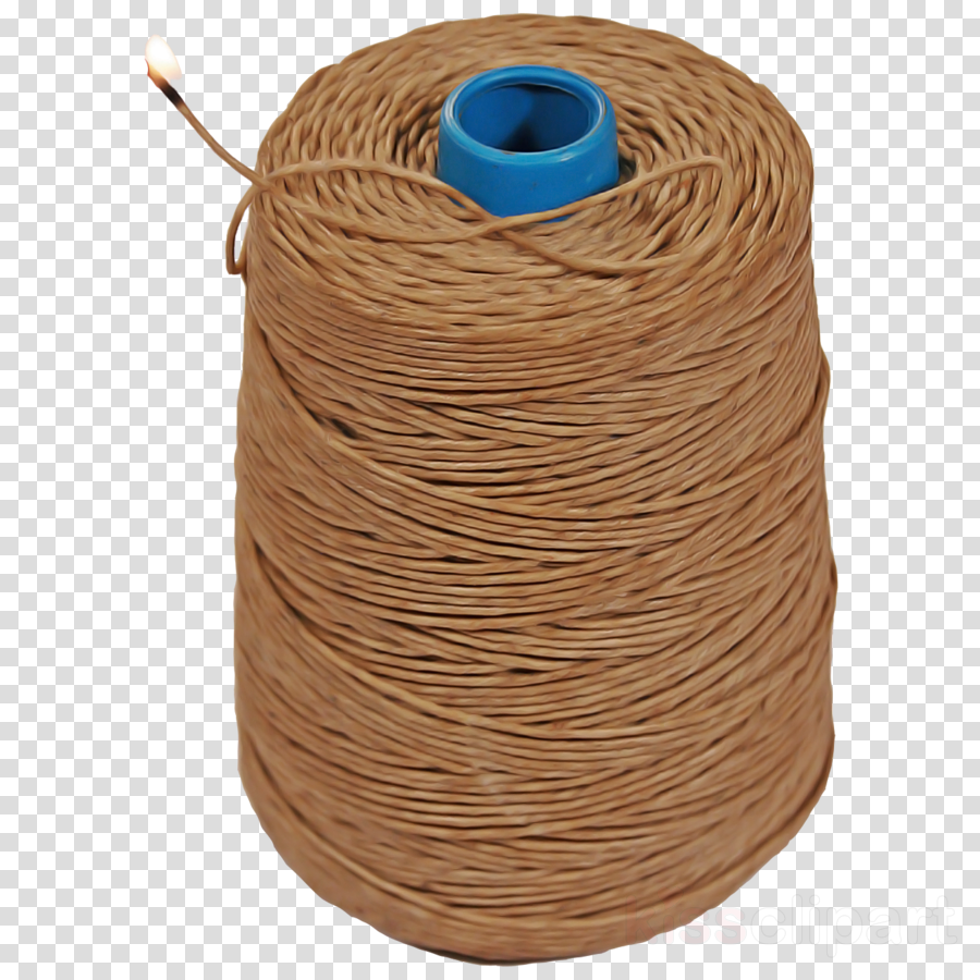 twine rope brown thread wire clipart.