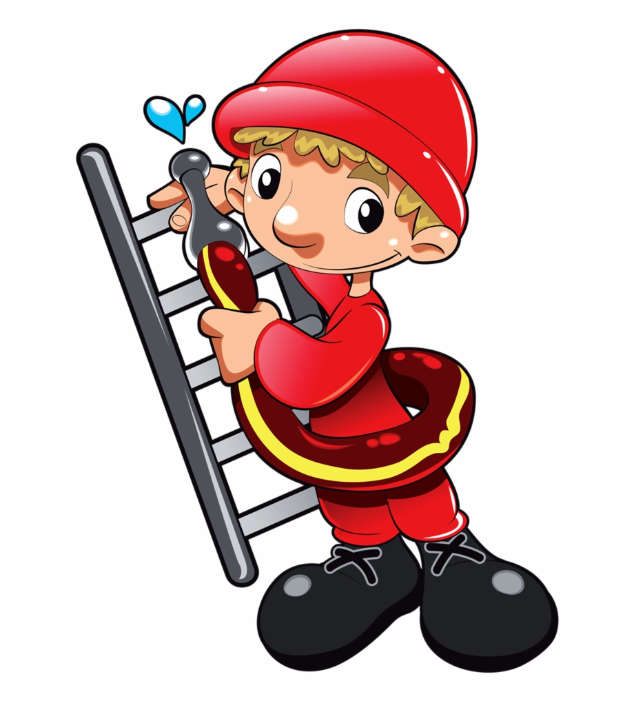 Firefighter Clipart Community Worker.