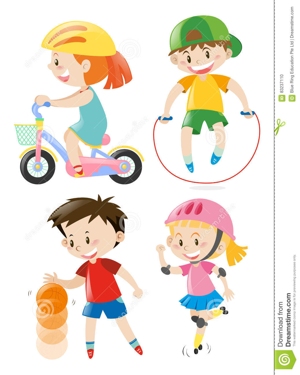 Different Types Of Exercise Clipart.